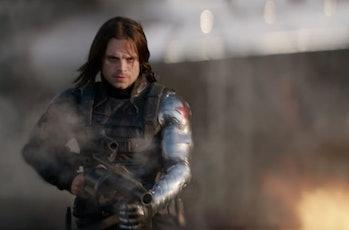Sebastian Stan as the Winter Soldier in the MCU
