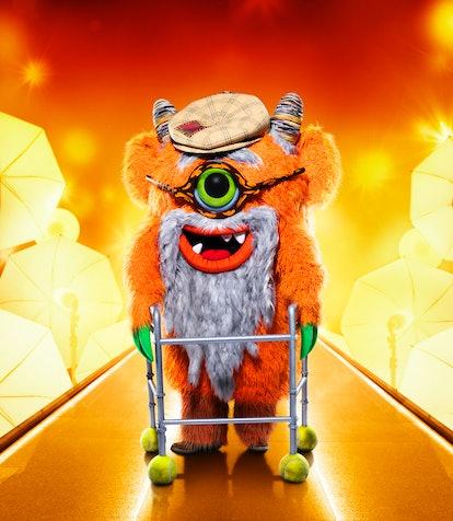 Grandpa Monster in 'Masked Singer' Season 5, via FOX press site.