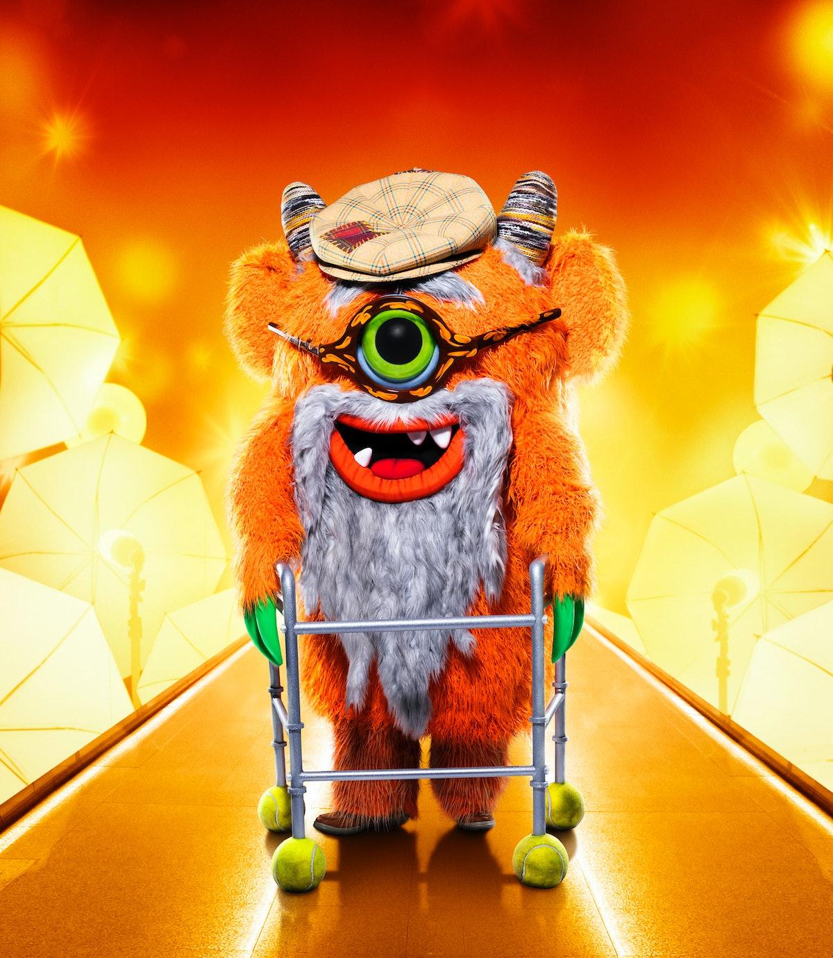 Grandpa Monster on The Masked Singer
