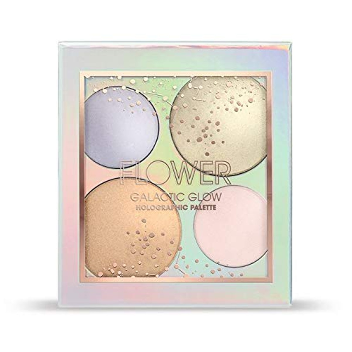 Flower Beauty Galactic Glow Holographic Palette