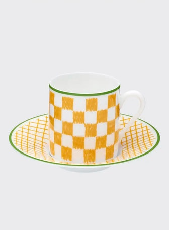 A Walk in the Garden Coffee Cup & Saucer
