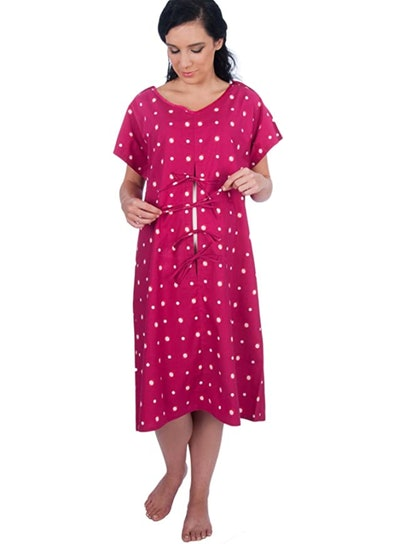 My Bella Mama Designer Hospital Delivery Gown