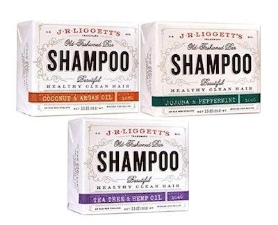 J·R·LIGGETT'S All-Natural Shampoo Bars (Set Of 3)