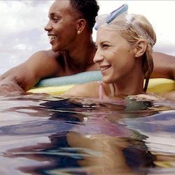 Kendal Kirkland and Alexcys Homan in 'Temptation Island' Season 3 via USA's press site