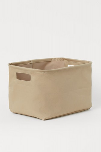 Cotton Twill Storage Basket