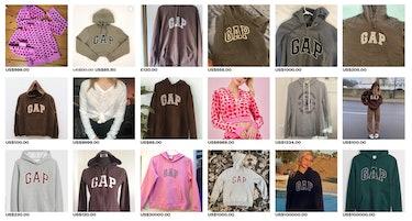 Gap hoodie depop.