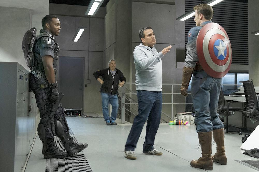 Avengers Russos Captain America