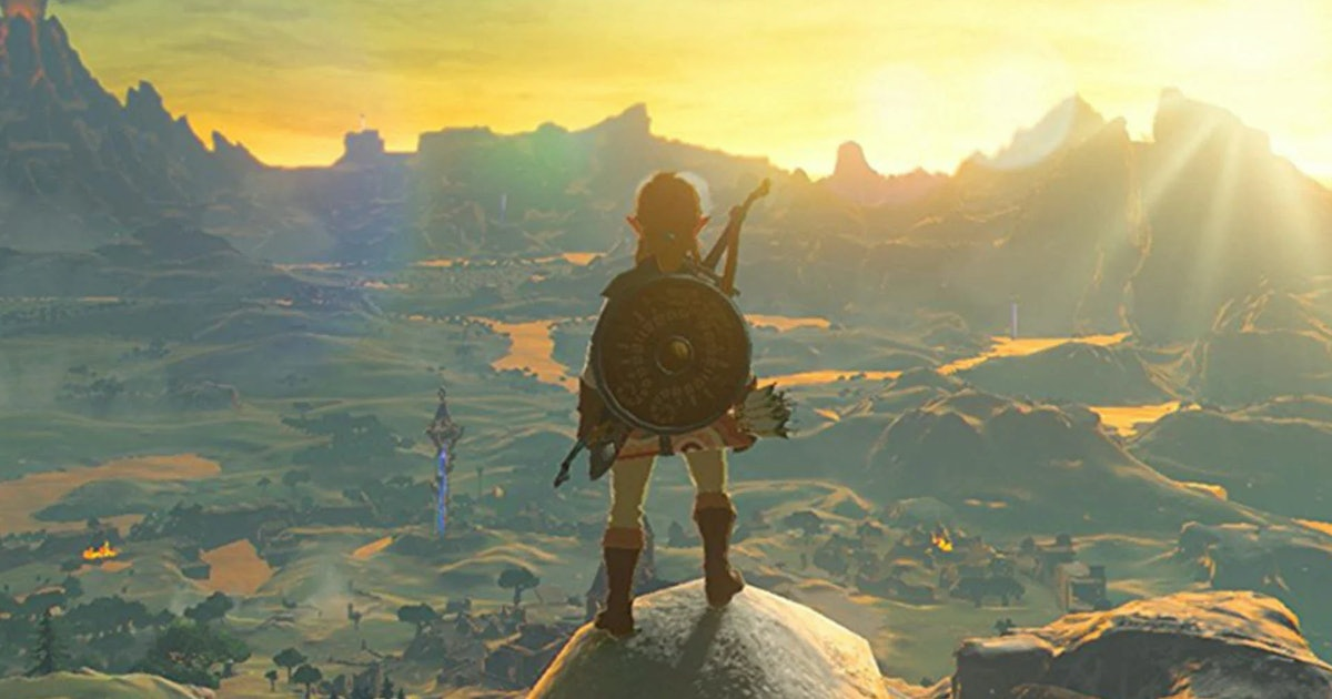 Breath of the Wild' isn't just a game, it's a masterclass in meditation