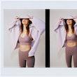 Kendall Jenner porte Alo Yoga pour sa campagne.