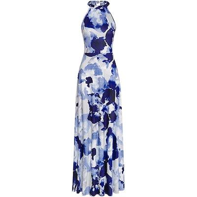 STYLEWORD Halter Maxi Dress