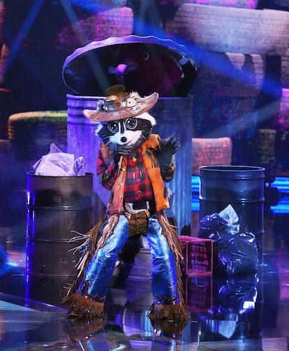 Raccoon in 'Masked Singer' Season 5 via FOX press site.