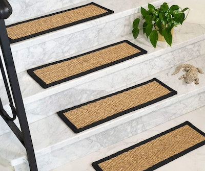 Natural Area Rugs Seagrass Stair Treads (13-Count)