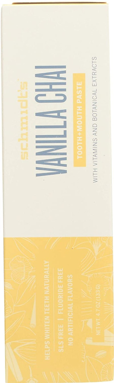 Schmidt's Vanilla Chai Toothpaste