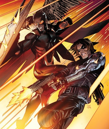 Falcon and the Winter Soldier in the comics