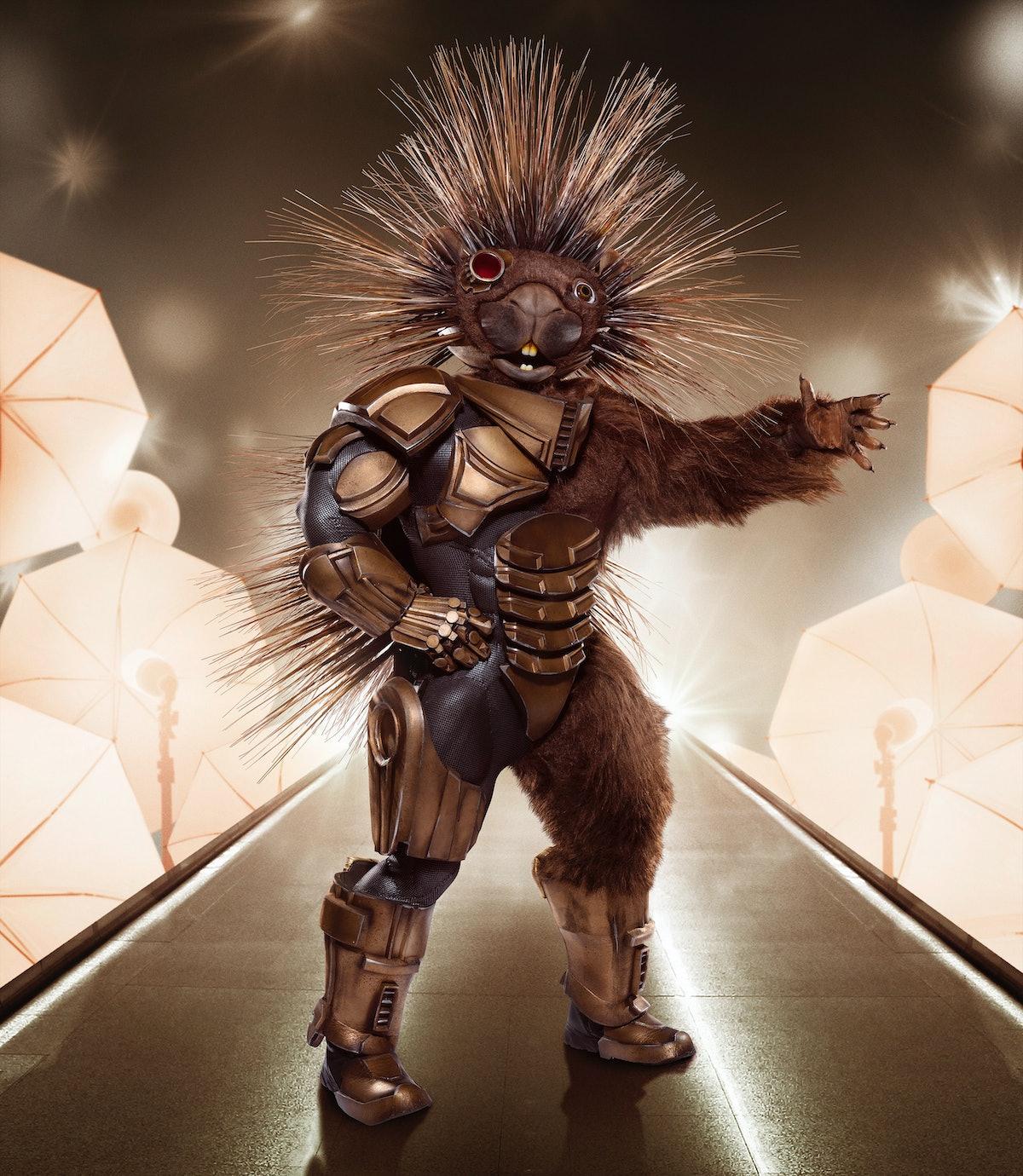 Robot Porcupine on The Masked Singer