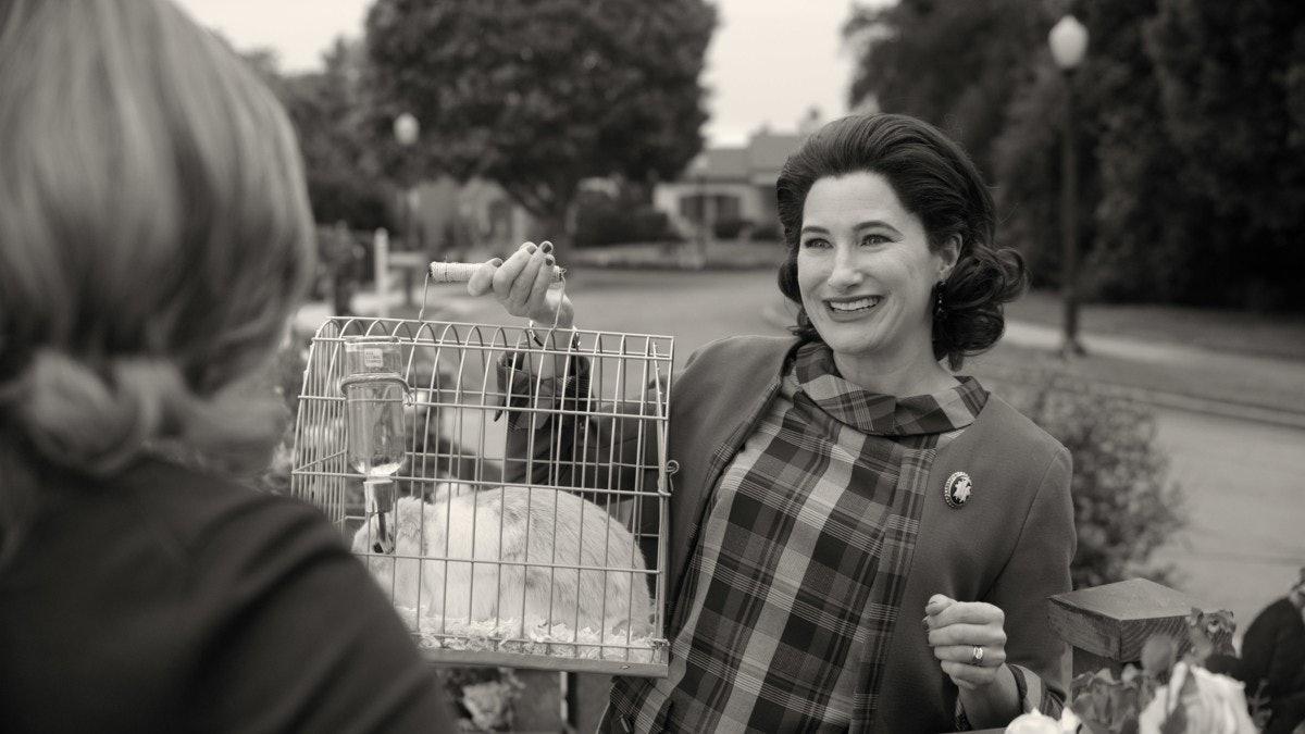 Kathryn Hahn as Agnes in WandaVision