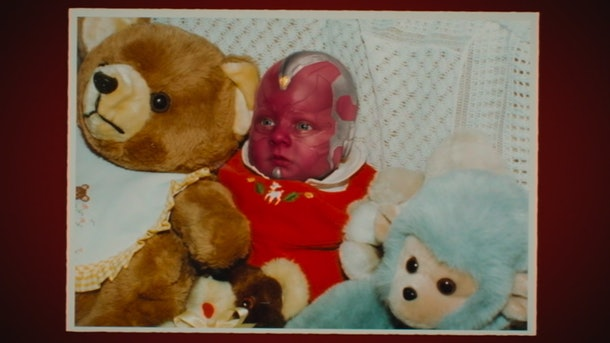Baby Vision in WandaVision
