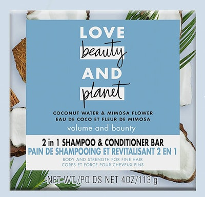 Love Beauty And Planet Shampoo And Conditioner Bar