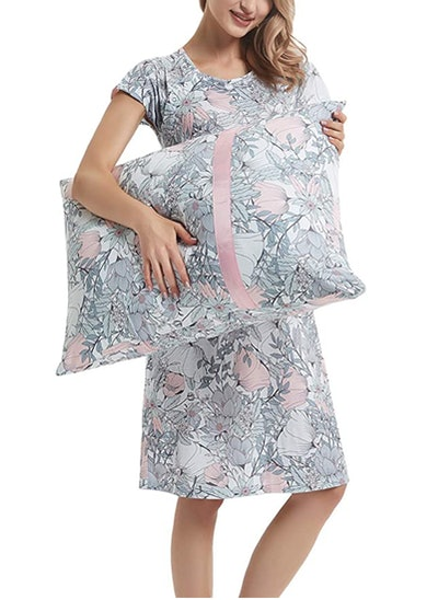 GINKANA Maternity Labor Delivery Gown