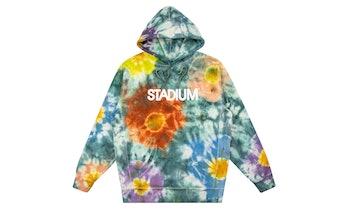 STADIUM tie-dye hoodie