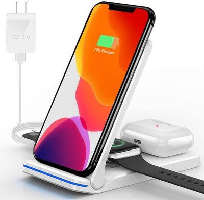 Hoonyer 3-in-1 Wireless Charging Station