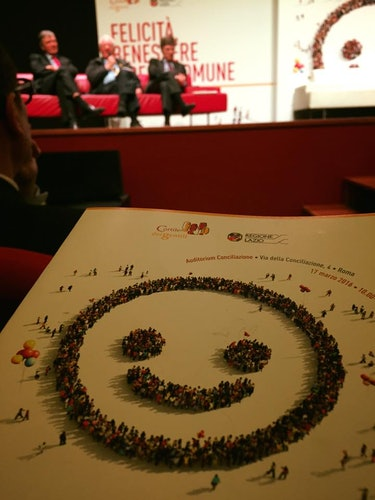 World Happiness Report 2016 launch event in Rome