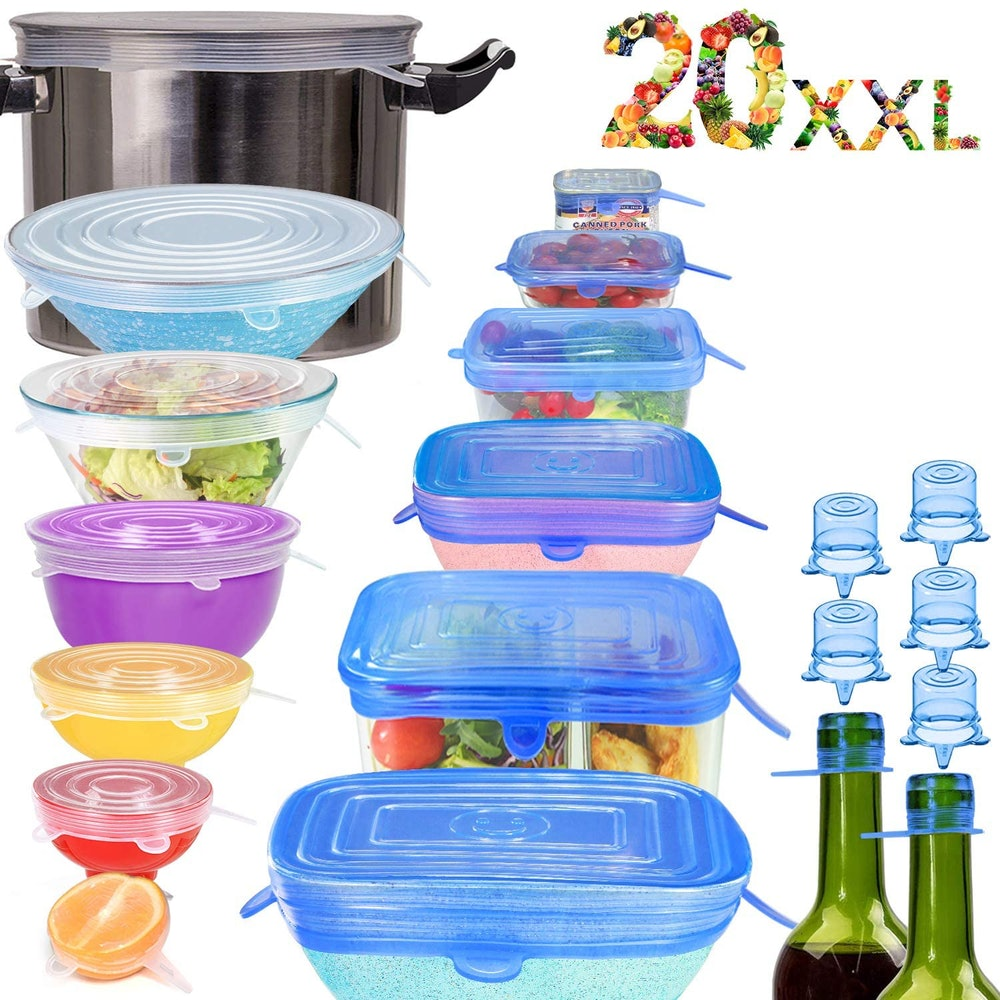 longzon Silicone Stretch Lids (13-Pack)