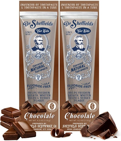 Dr. Sheffield's Certified Natural Toothpaste (2-Pack)