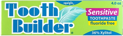 Squigle Tooth Builder Sensitive Toothpaste
