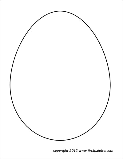 Plain Large Egg
