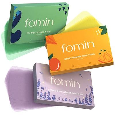 FOMIN Foaming Hand Soap Sheets (3-Pack- 300 Sheets)