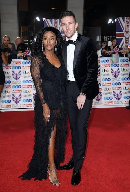 Alexandra Burke and Angus MacDonald attend the Pride Of Britain Awards 2019