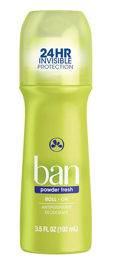 Ban Powder Fresh 24-hour Invisible Antiperspirant