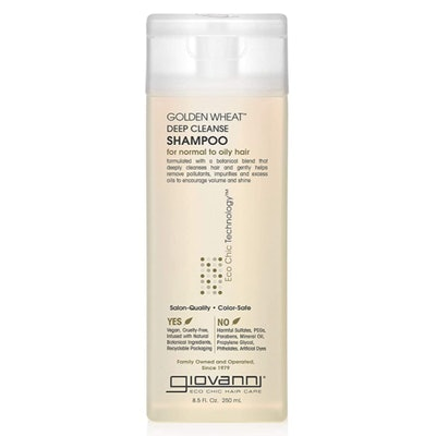Giovanni Golden Wheat Deep Cleanse Shampoo, 8.5 Oz.