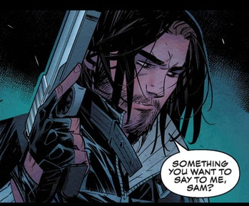 Winter Soldier in the comics