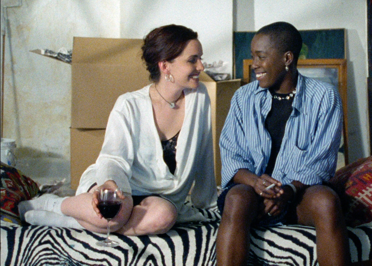 Guinivere Turner and Cheryl Dunye in The Watermelon Woman.