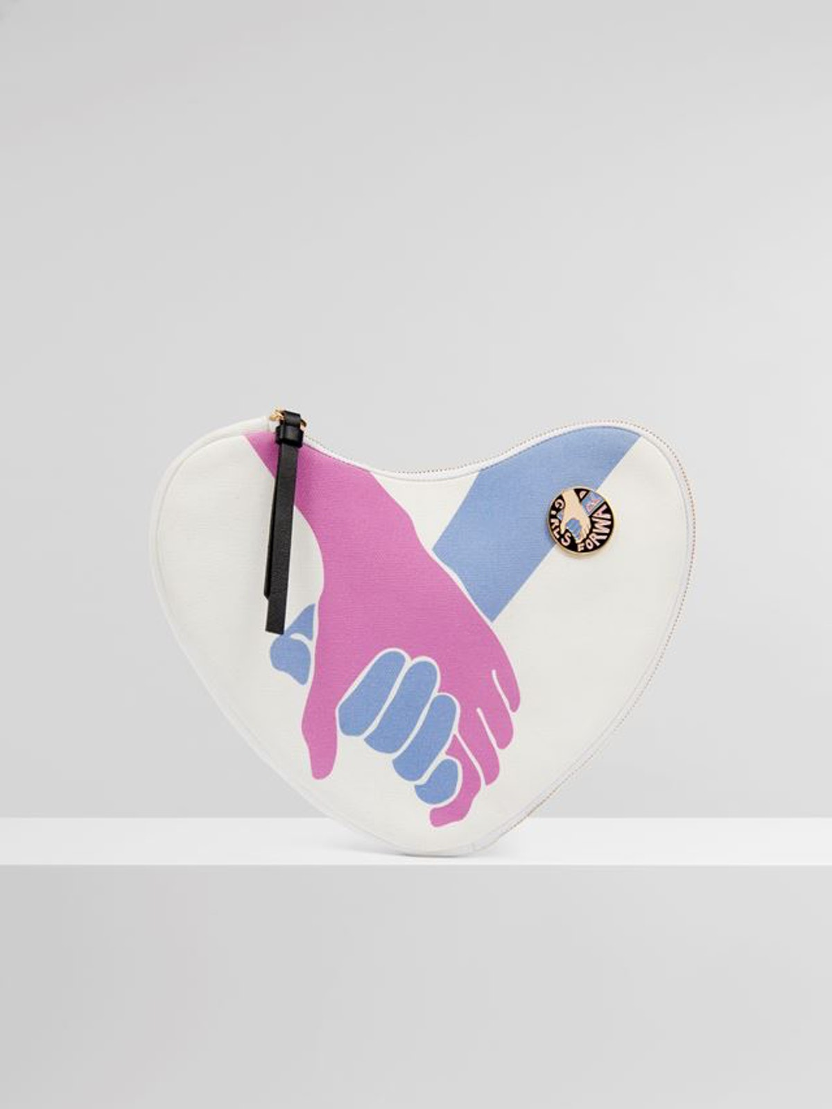 Chloé For UNICEF Heart Pouch
