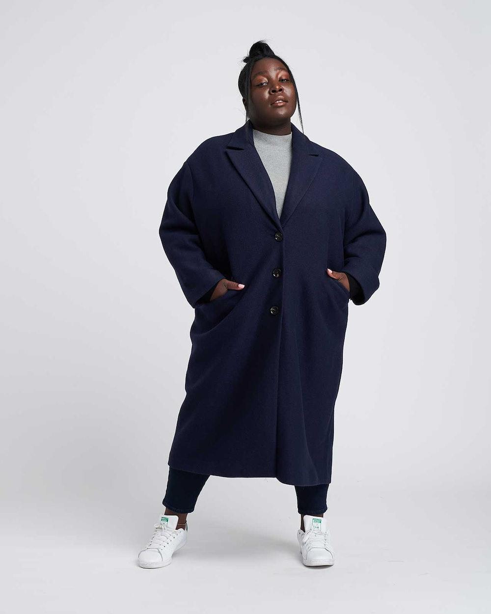 Willow Wool Cocoon Coat