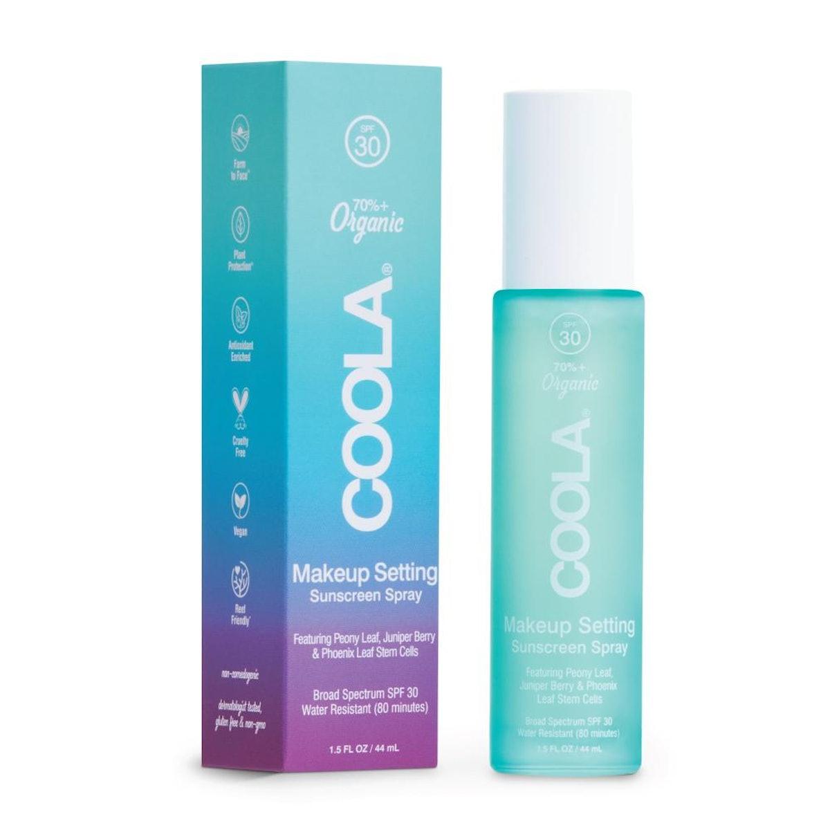 Makeup Setting Spray Organic Sunscreen SPF 30