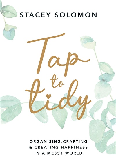 'Tap To Tidy' by Stacey Solomon