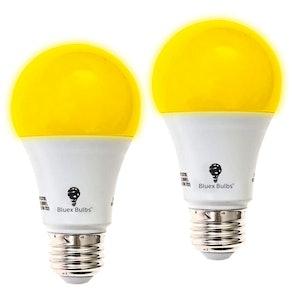 Bluex Bulbs Amber Yellow LED Bug Light