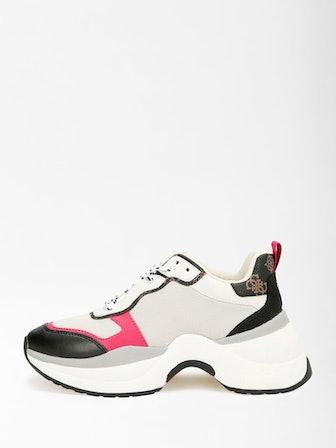 Jennea Woven Chunky Sneakers