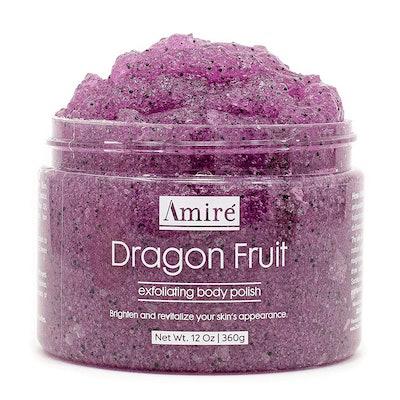 Amire Dragon Fruit Exfoliating Body Polish (12 Ounces)