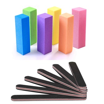 TsMADDTs Nail Files and Buffers (12-Pieces)