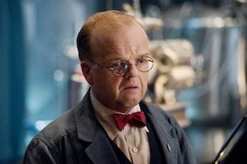 Toby Jones as Dr. Arnim Zola in Captain America: The First Avenger
