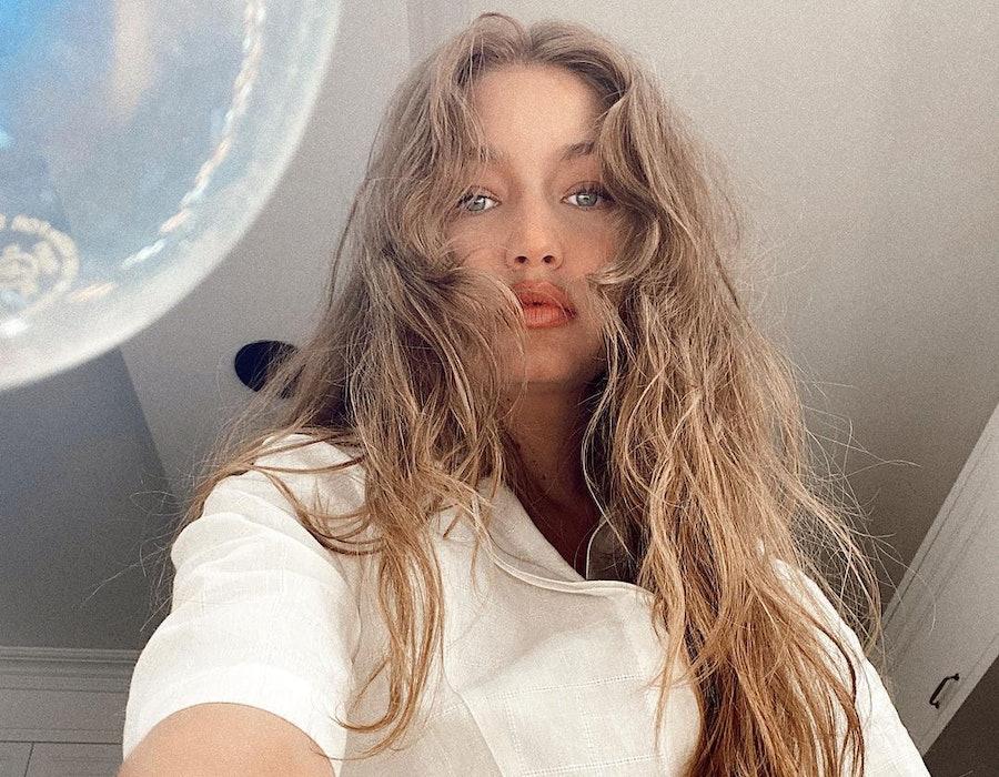 Gigi Hadid posts a selfie to Instagram