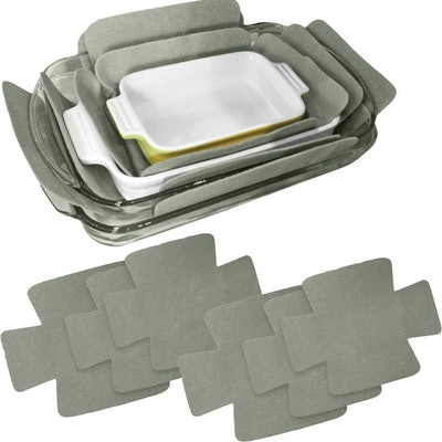 Evelots Bakeware Scratch Protectors (6 Pack)