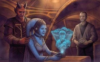 Obi-Wan Kenobi Kitster Banai Tattooine Ghost book