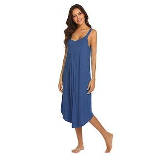Ekouaer Sleeveless Night Gown