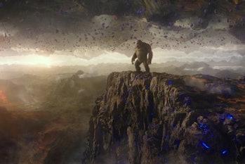 King Kong visits Hollow Earth
